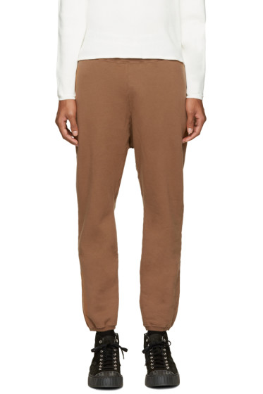 Undecorated Man - Brown Fleece Lounge Pants
