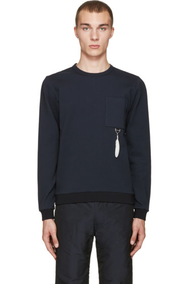 OAMC - Navy Feather Pullover