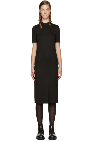 Nomia - Black Mock Neck Dress