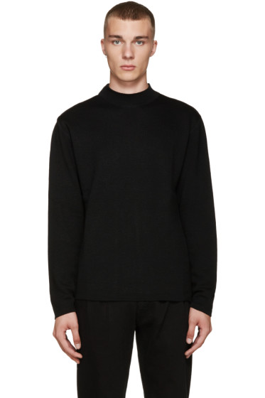 Etudes - Black Merino Sweater