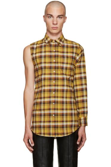 Vetements - Yellow Single Sleeve Shirt