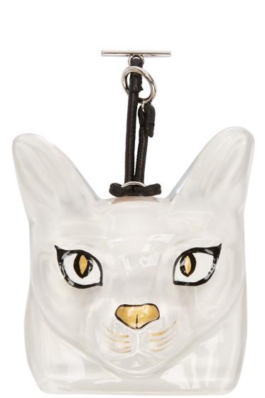 Loewe - Transparent Cat Bag Charm