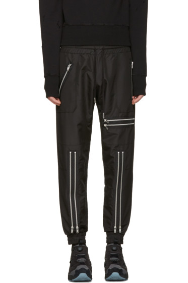 99% IS - Black Zip Lounge Pants
