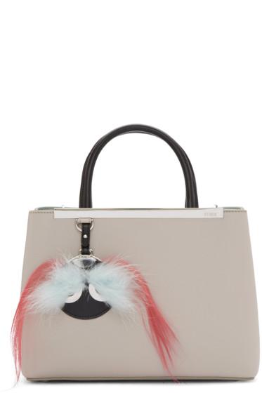 Fendi - Grey Petite 2Jours Bag