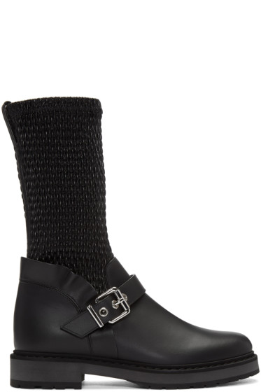 Fendi - Black Waves Boots