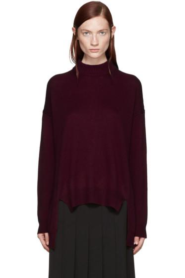 Rosetta Getty - Red Cropped Sweater