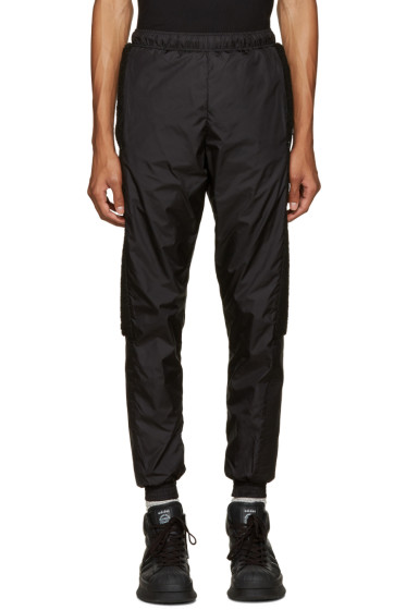 Cottweiler - Black Fleece Trim Lounge Pants