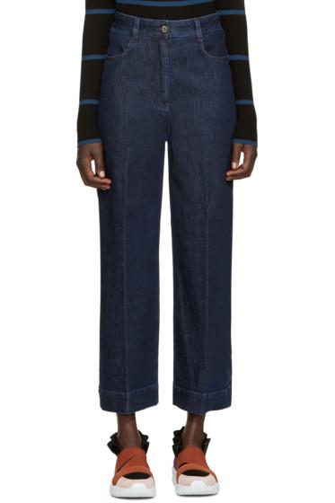 Emilio Pucci - Blue Wide-Leg Jeans