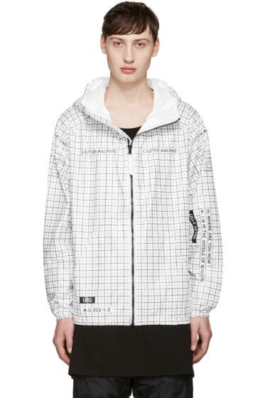 UEG - White 'Machine 2' Jacket