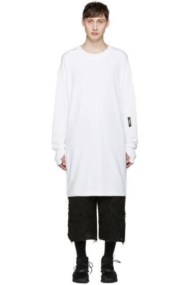 UEG - White Long Pullover