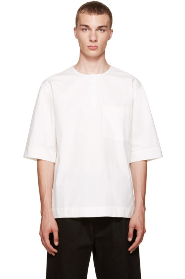 Phoebe English - Off-White Pocket Henley
