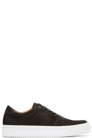 No.288 - Black Nubuck Grand Sneakers
