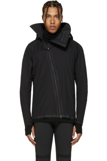 Y-3 SPORT - Black Airflow Hooded Jacket