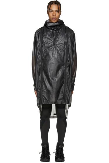 Y-3 SPORT - Black Lite Poncho Jacket