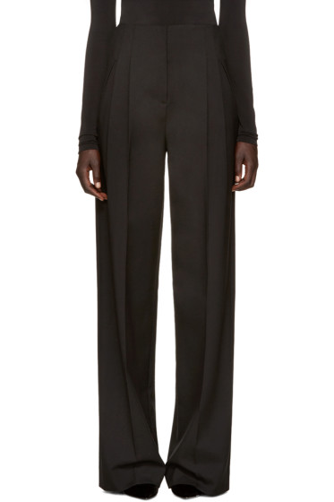 Protagonist - Black Wide-Leg Trousers