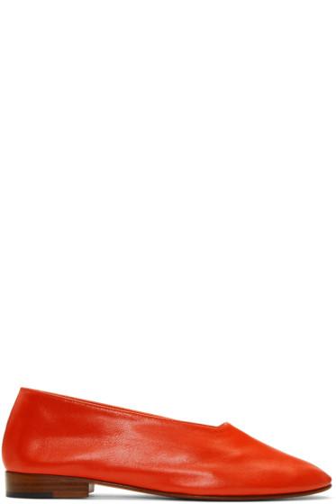 Martiniano - Red Glove Ballerina Flats