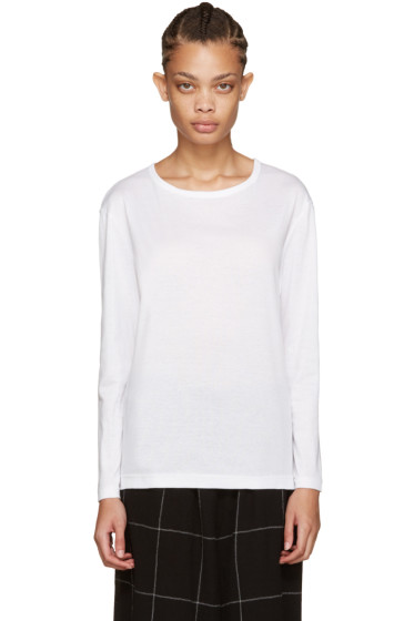 Nocturne #22 - White Long Sleeve T-Shirt