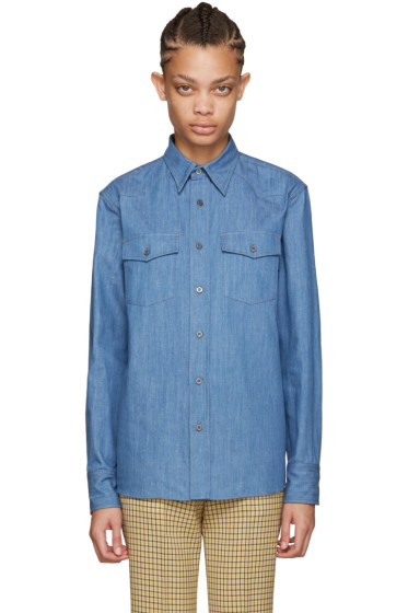 Miu Miu - Blue Denim Shirt