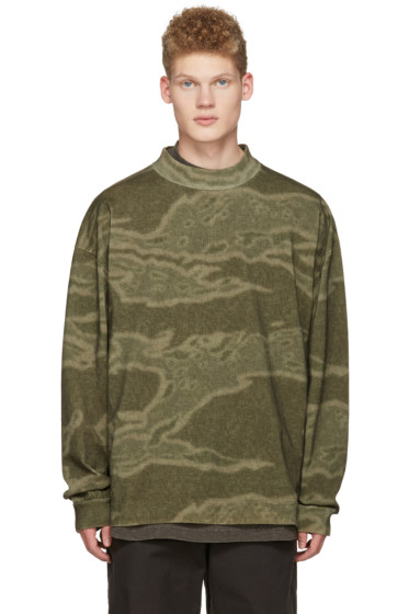 YEEZY - Green Moto Long Sleeve T-Shirt