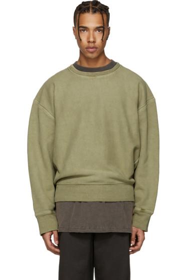 YEEZY - Green Crewneck Sweatshirt