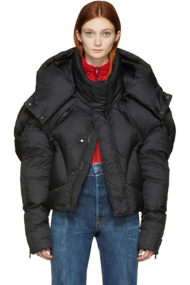 Chen Peng - Black Down Jacket