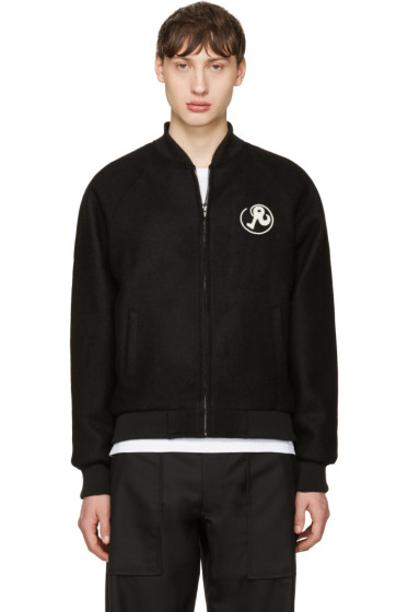Richardson - Black Harris Bomber Jacket