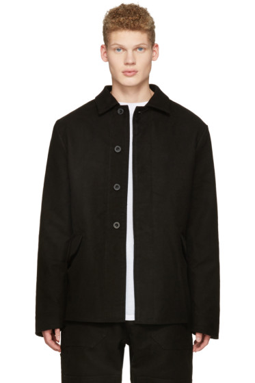 Richardson - Black Moleskin Work Jacket