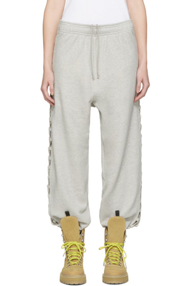 Matthew Adams Dolan - Grey Laced Lounge Pants