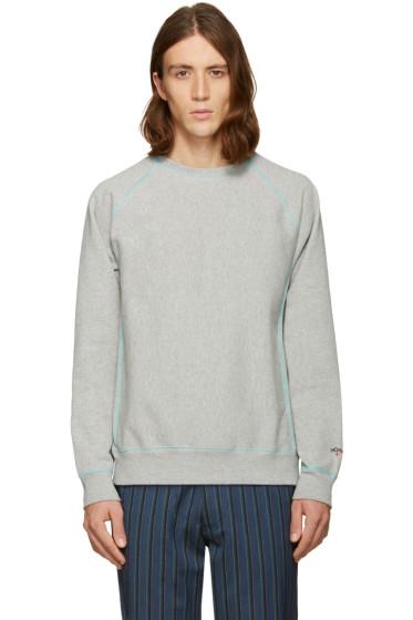 Noah NYC - Grey Solid Sweatshirt