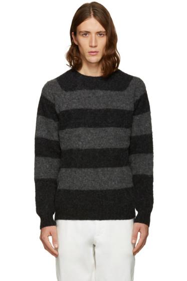 Noah NYC - Black Striped Sweater
