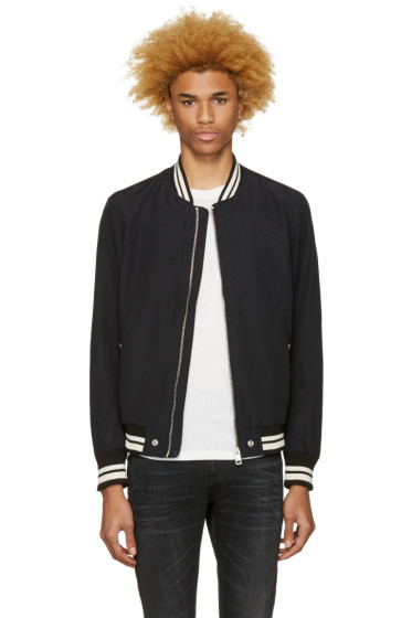 Diesel - Black J-Radical Bomber Jacket