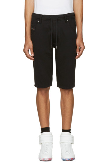 Diesel - Black Kroshort-A Shorts