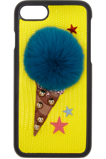 Dolce & Gabbana - Yellow Gelato iPhone 7 Case