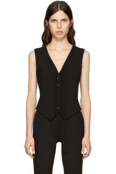 Dolce & Gabbana - Black Crepe Vest