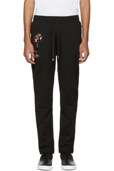 Dolce & Gabbana - Black 'Salsa Cha Cha Cha' Lounge Pants
