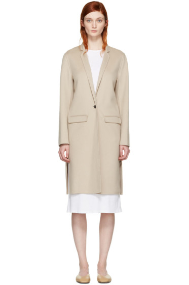 Mackage - Beige Wool Hensley Coat