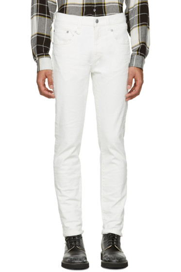 R13 - White Boy Skinny Jeans