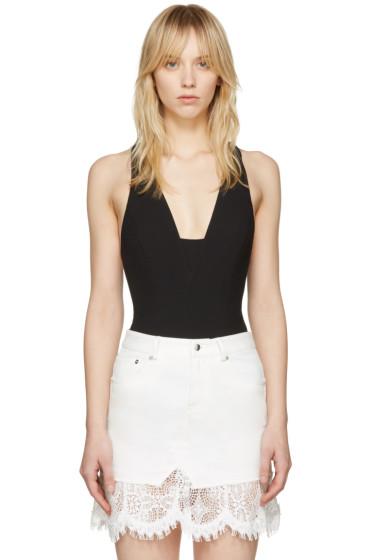 Rag & Bone - Black Elle Bodysuit