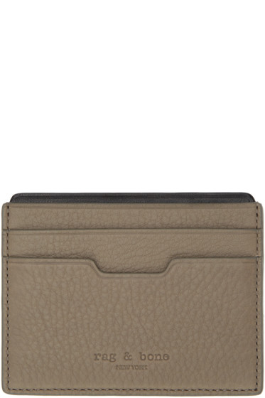 Rag & Bone - Brown Leather Card Holder