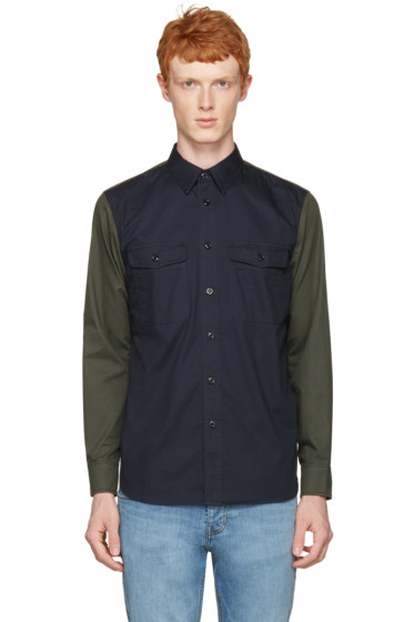 Rag & Bone - Navy Contrast Shirt
