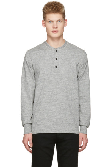 Rag & Bone - Grey Standard Issue Henley
