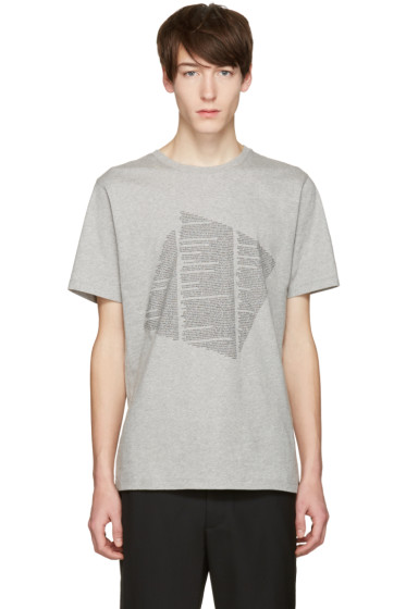Public School - Grey Kissen Text T-Shirt