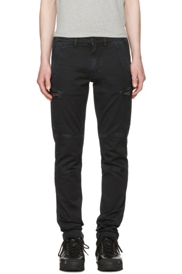 Belstaff - Black Larson Cargo Pants