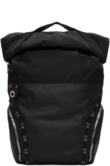Diesel Black Gold - Black Hiking Backpack
