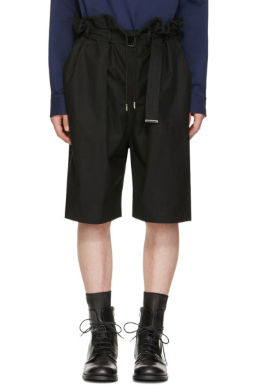 Diesel Black Gold - Black Drawstring Shorts