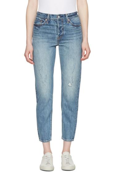 Levi's - Blue Wedgie Fit Jeans