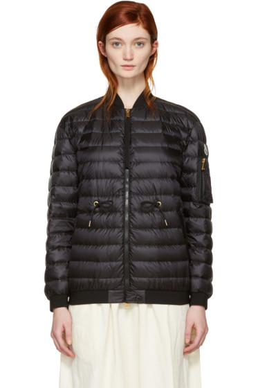 Moncler - Black Down Gauffre Jacket