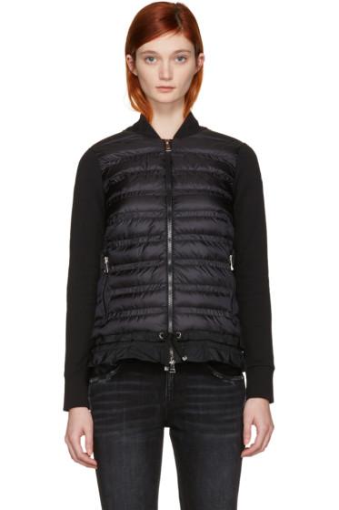 Moncler - Black Down Panel Jacket