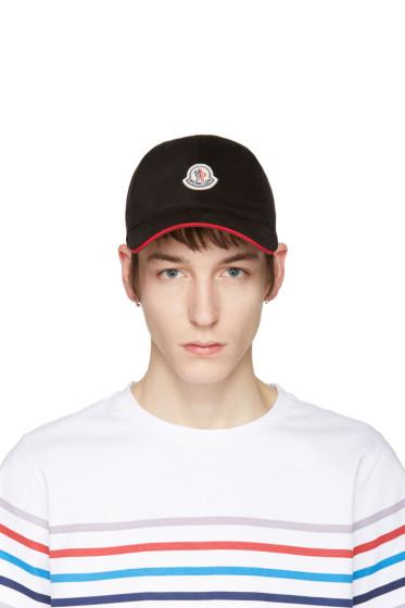 Moncler - Black Logo Cap