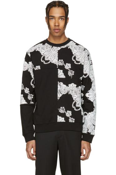 McQ Alexander McQueen - Black Phoenix Paisley Clean Pullover